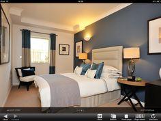 Lovely bedroom colour scheme