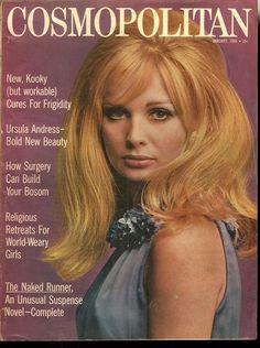 Cosmopolitan magazine, JANUARY 1966 Model: Susan Murray