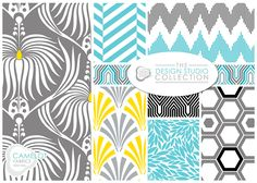 New fabric collection! The Design Studio Collection by Camelot Design Studio