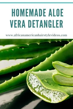 Best Pre-Poo Routine For Fast Natural Hair Growth Using Homemade Aloe Vera Detangler Grow Natural Hair Faster, Natural Hair Growth, Natural Hair Styles, Aloe Vera, Hair Health And Beauty, Gel Aloe, Braids With Curls, Anti Ride, Anti Aging Serum