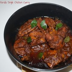 Kerala Style Chicken Curry, How to make Kerala Style Chicken Curry