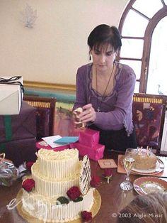 Enya's birthday, Dublin, 2003; photo by Aigle Music