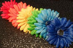 We LOVE Lookin' Snappy! The possibilities are endless! Mommies check it out! Our Wedding, Dream Wedding, Wedding Ideas, Gerber Daisies, Roosters, Happy Things, My Favorite Color, Rainbows, Hair Clips