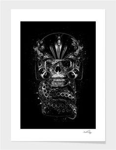 """FANTASMAGORIK®KIMI"" - Limited Edition Print by Nicolas OBERY for Curioos"