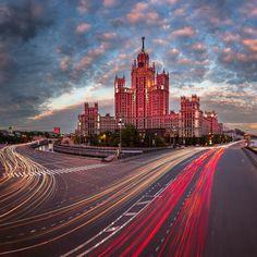 Kotelnicheskaya Embankment Building, Moscow | Russia (by Andrey Omelyanchuk)   Blog | Google+ | Facebook | Instagram!