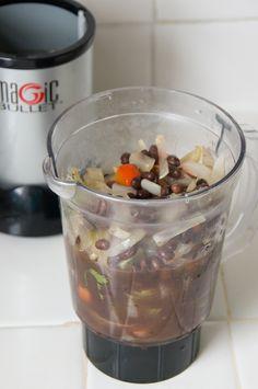 Magic Bullet black-bean-soup