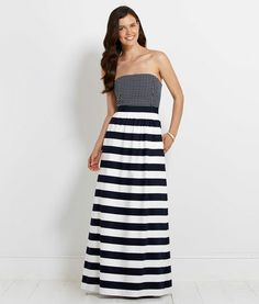 Women's Dresses: South Coast Maxi Dress for Women - Vineyard Vines - normally not a maxi dress fan because I'm so short, but this is way cute and still gives you a waistline...can't wait to try it!