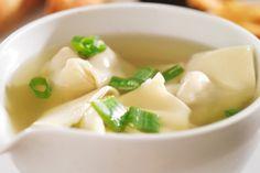 Soupe Wonton aux crevettes 100% maison                              …