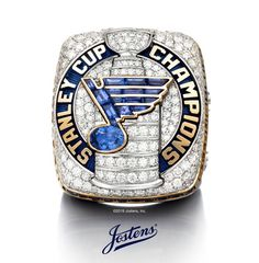 After 52 years, the Blues have achieved the ultimate goal in hockey, they are Stanley Cup Champions for the very first time. The St. Louis Blues 2019 Stanley Cup Championship Ring celebrates their journey and pays homage to the team, their fans and their city. Capture your piece of Blues History and celebrate their first-ever Stanley Cup victory, shop the official fan collection! Stanley Cup Rings, Gold Backdrop, Sports Signs, Word Mark Logo, Blue Words, Nhl Logos, Stanley Cup Champions, St Louis Blues, Hockey Stuff
