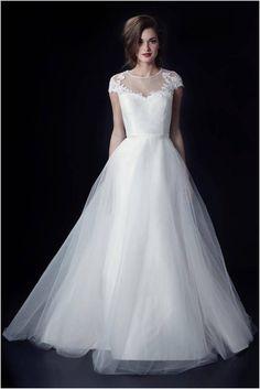 Clara Louise Wedding Dress by Heidi Elnora