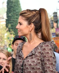 Maria Menounos Demonstrates How to Get Two Easy Hairstyles With the Same Adorable Braid