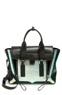 Phillip Lim satchel with hologram detail