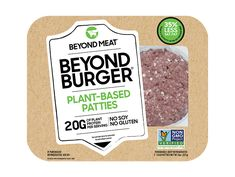 Beyond Meat Burger - Patties : Target Beyond Meat Burger, Burger Meat, Meatloaf Burgers, Vegan Meatloaf, Protein In Beans, Plant Based Burgers, Veggie Burgers, How To Cook Burgers, Meat Substitutes