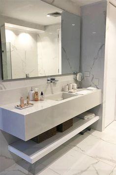 Small House Design, Dream Home Design, Home Design Decor, Modern Bathroom Design, Bathroom Interior Design, Modern House Facades, Bathroom Goals, Aesthetic Bedroom, Luxurious Bedrooms