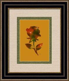 flower art 41c, by  fractal mandala art