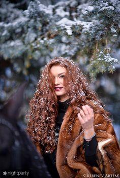 Зимняя фотосессия Мисс Оренбург, фото, фотография