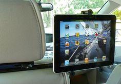Gripdaddy v2ARM iPad Headrest Mount for car
