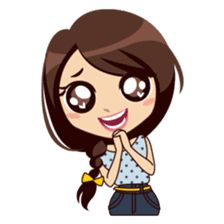 Meet sweet girl Alice, with her daily life as College Student, to cheer up your daily conversation. Love Cartoon Couple, Chibi Couple, Cute Cartoon Pictures, Cute Cartoon Girl, Cute Cartoon Characters, Cartoon Styles, Alice, Doraemon Cartoon, Pop Stickers