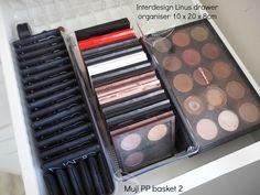 My make up storage/vanity/bedroom tour Expat Make Up Addict-make up storage ideas-ikea Alex 9 drawers