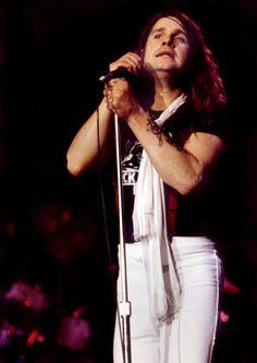 Ozzy Osbourne performing with Black Sabbath at The Omni in Atlanta, GA, November 13, 1978