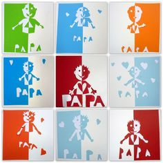 carte fête des pères cycle 3 991 Best Father's and Mother's Day images in 2020 | Fathers day