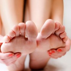 . Stir together 1/2 cup brown sugar, 2 tablespoons lemon juice, 2 tablespoons aloe vera gel, and 1 teaspoon coconut oil.   Massage 2 tablespoons onto each foot, especially on rough areas. The aloe and coconut oil soften and soothe, the brown sugar exfoliates, and the lemon juice brightens skin.