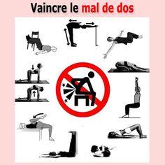 exercices pour soulager le mal de dos