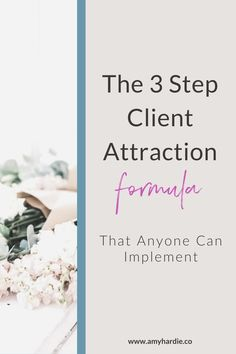 This 3 step client attraction formula shares 3 simple tools to add into your process to help you to book more clients and get more clients to come back and book with you again. Click through to find out more and sign up for the free formula. #getclients #freelancer #coach #photographer #virtualassistant #socialmediamanager How To Get Clients, Sales Strategy, Successful Online Businesses, Up And Running, Sales And Marketing, Virtual Assistant, Photography Business, Personal Branding, Business Tips