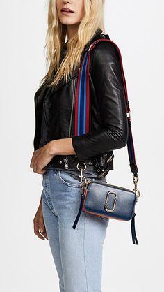 The Marc Jacobs Snapshot Crossbody Bag Marc Jacobs Crossbody Bag, Marc Jacobs Bag, Marc Jacobs Snapshot Bag, China Fashion, Monogram Canvas, Cloth Bags, Day Use, Luxury Handbags, Cross Body