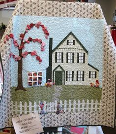 Anne of Green Gables Quilt Star Quilts, Quilt Blocks, House Quilts, This Is A Book, Anne Of Green Gables, Quilting Projects, Quilting Ideas, Applique Quilts, Pinwheels