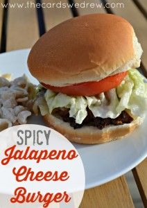 Spicy Jalapeno Cheese Burger