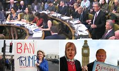 Amid protests, MPs to debate Trump visit invitation #DailyMail