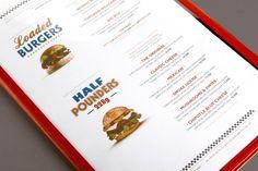 BOB'S - Easy Diner by Nisrine Sarkis, via Behance