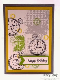 One more week left to purchase from the Stampin' Up! Retiring Items list  Clockworks