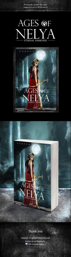 """Check out my @Behance project: """"Premade book cover: Ages of Nelya"""" https://www.behance.net/gallery/45025453/Premade-book-cover-Ages-of-Nelya"""