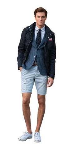 GANT - Great mix of casual & dress.
