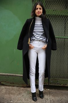 Well, It's Winter, So Wear White | Man Repeller