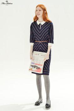 Farrah Dress (Stripe) - Miss Patina - Vintage Inspired Fashion