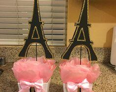 Paris Eiffel Tower Centerpiece-Party theme,Paris baby shower- Paris wedding-Paris sweet 16-Paris bridal shower