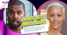 Amber Alert |  Amber Rose Shuts Kanye West Down With One Tweet  After Kanye West Slams Her Ex Wiz Khalifa In A Full on Twitter Rant !!!