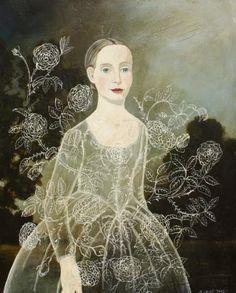 Dornroeschen, 2012Acrylic on panel, 30x24 inches$6000