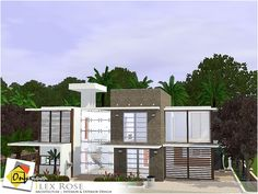 Ilex Rose house by Onyxium - Sims 3 Downloads CC Caboodle