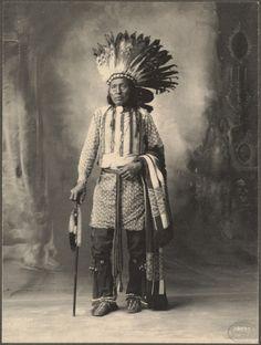 Portraits d'amérindiens