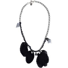 Lanvin Necklace (26,205 PHP) ❤ liked on Polyvore featuring jewelry, necklaces, black, choker jewelry, lanvin, plastic necklace, plastic choker and plastic choker necklace
