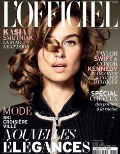 L'Officiel Paris November 2012: Kasia Smutniak