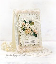 card heart flowers roses vintage shabby chic Wild Orchid Crafts: Two cards with roses Wedding Cards Handmade, Beautiful Handmade Cards, Greeting Cards Handmade, Pretty Cards, Cute Cards, Estilo Country, Shabby Chic Cards, Spellbinders Cards, Flower Cards