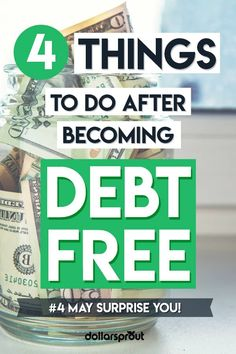 There's a lot of information out there about how to get out of debt. But not so much one what to do immediately after getting out of debt. If you're in this newly found position, congratulations! Next up, one personal finance expert shares his 4 best tips Ways To Save Money, Money Tips, Money Saving Tips, How To Make Money, Money Hacks, Money Budget, Budget Travel, Budgeting Finances, Budgeting Tips