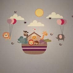 Noah's Ark Wall Decals