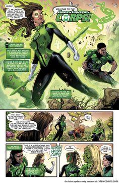Jessica Cruz Green Lantern, Green Lantern Green Arrow, Blue Lantern, Green Lantern Corps, Green Lanterns, Dc Comics, Comics Online, Female Dc Characters, Marvel Cartoon Movies