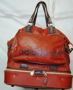 Vintage Adidas bag. Want this.